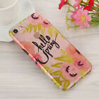 Transparent Silicone TPU Pattern Phone Case Shockproof Cover for iPhone 6 7 Plus