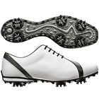 New FootJoy Women's LoPro 97142 Golf Shoes - White/Black - 6.5 Wide - CLOSEOUT!