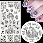 Unicorn Nail Art Stamping Plates Stamp Image Template Stainless Steel Manicure