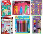KIDS CREATE - Pens/Pencils/Sharpener/Stationery/Kids/FlashCards/Paint