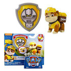 Paw Patrol Dog Pup Figures Backpack Projectile+Badge Kids Baby Boy Girl Toy Gift