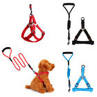 Adjustable Heavy Duty Harness Pet Dog Training Leash Collar With No-pull Set Kit