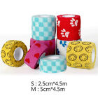 Pet Dog Cat Vet Wound Self-adhesive Elastic Cohesive Bandage Wrap Tape Cute