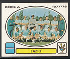 Panini Calciatori Football 1977-78 Sticker, No 162 - Lazio Team Group