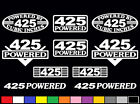 10 DECAL SET 425 CI V8 POWERED ENGINE STICKERS EMBLEMS OLDS VINYL DECALS