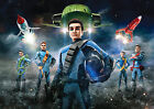 Thunderbirds Poster are Go! TV Heroes Quality Large FREE P+P, CHOOSE YOUR SIZE!