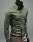 17 Color Men Business leisure Long Sleeve Charm Shirt Shitsuke Lapel Men's shirt