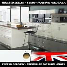 High Gloss White Replacement Kitchen Cupboard Doors Unit Cabinet Drawer Fronts
