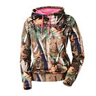 OEM Polaris Pursuit Womens Camouflage Hoodie with Pink Trim and Polaris Logo