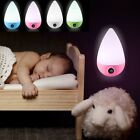 Automatic LED Child Safety Night Light Plug in Low Energy Saving Dusk Dawn UK