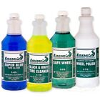 Chrome Wheel Cleaner, Polish, Tire Cleaner and Tire Shine Kit FREE SHIPPING