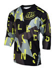 NEW 2017 TROY LEE DESIGNS TLD RUCKUS CHOP BLOCK MTB DH JERSEY GRAY ALL SIZES