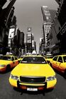 New Yellow Cabs New York City Poster