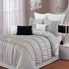 Romantica Silver 9 Piece Comforter Bed In A Bag Set