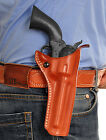 MASC LEATHER OWB PADDLE HOLSTER FOR UBERTI CATTLEMAN 1873, 357 MAG 4-1/2''Inch