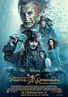 Pirates of the Caribbean Poster New Movie Salazar 2017 FREE P+P CHOOSE YOUR SIZE