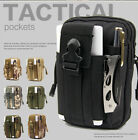Waterproof Outdoor Tactical Waist Belt Military Sports Molle Phone Bag Case Pack