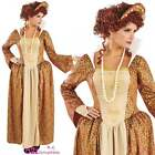WOMENS TUDOR QUEEN ELIZABETH BOOK DAY ADULT HISTORICAL FANCY DRESS COSTUME