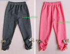 New~Girls Cotton Trousers SZ:5/90~11/120, AGE:1~5(c26)