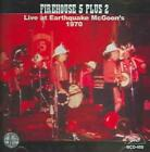 THE FIREHOUSE FIVE PLUS TWO - LIVE AT EARTHQUAKE MCGOON'S 1970 NEW CD