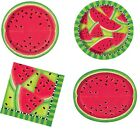 SUMMER WATERMELON Birthday Party Range (Tableware & Decorations) {Unique}