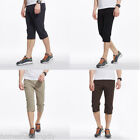 Fashion New Mens Outdoor Sports Pants Cotton Blended Quick-drying Pants SP