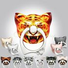 Tiger 1pc 360° Rotating Finger Grip Stand Holder Cell Phones iPhone Accessories