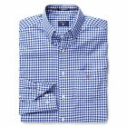 GANT Shirt Long Sleeve Poplin Gingham Check - Yale Blue