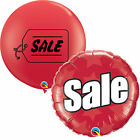 SALE Printed Qualatex Giant Latex & Foil Balloon - Promotion, Point Of Sale