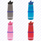 New COLOURED SPORT WATER BOTTLE 750ml Drink Hydration Gym Cycling Hiking UK ✔
