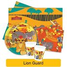 Disney The Lion GUARD Birthday Party Range - Lion King Tableware & Decorations