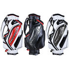 Portable Golf Carry Cart Bag  5 Way Divider Organizer For 13 Golf CLUBS Set