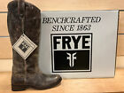 Frye Melissa Button Glazed VN LE Chocolate Boots