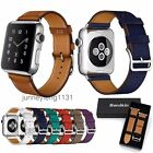 Bandkin Real Leather Single Tour Bracelet For Apple Watch Band Strap 38mm / 42mm
