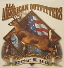 ALL AMERICAN OUTFITTERS AMERICAN WHITETAIL DEER HUNTER BUCK HUNTING SHIRT #1814