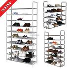 5/8/10 Tier Shoes Rack Organizer Storage,Free Standing Closet Rack