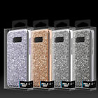 Samsung GALAXY S8 /PLUS Impact HYBRID Rugged Case Phone Cover w/ Bling Crystal