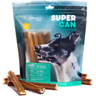 Prime 6-inch SuperCan Bully Sticks [ 25 Pack ] All Natural Dog Treats and Chews