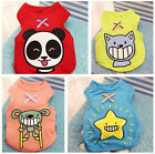 Little Pet Dog Cat Vest Cool Summer Spring Clothes Kitty Puppy Carton Apparel