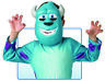 Fancy Dress Accessory - Disney Monsters Inc. Sulley Mask