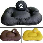 Luxury dog bed, comfortable, soft with removable cover with pillow 95x75x15