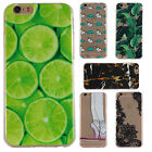 Patterned Soft TPU Silicone Ultra Thin Transparent Back Case Cover For Huawei