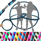 Pro Hula Hoop for Kids or Adults - Weighted Travel Hula Hoop For Exercise Dance