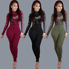 Summer Women Ladies Clubwear Playsuit Bodycon Party Jumpsuit Romper Trousers New