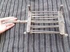 ANTIQUE 19TH CENTURY COOKING GRILL TOOL WROUGHT IRN BLACKSMIT HAND FORGED