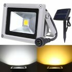 Solar Powered 10W LED Flood Light Outdoor Yard Lawn Garden Security Spot Lamp AU