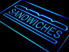 i413-b Sandwiches Cafe Shop Bar Pub NEW Neon Light Sign