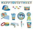 OCEAN BUDDIES Birthday PARTY Range Under The Sea Tableware Decorations Supplies