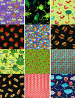 "Butterfly Owl & More Cotton Fabric BTY Multiple Fabrics You Choose 44"" 4Charity"