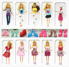 Handmade Fashion Barbie Clothes Dresses Shoes for 11 Inch Barbie Doll Gifts